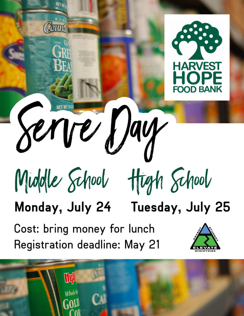 Middle School Serve Day - Advent UMC